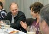 Екатерина Лахова и Владимир Путин