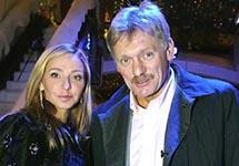 Татьяна Навка и Дмитрий Песков. Кадр видео
