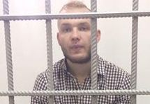 Кирилл Бобро в суде, 20.03.2017. Фото Виталия Зубенко